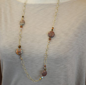 Jasper Long Necklace