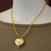 18k Gold Vermeil Citrine Strand