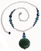 Jade Drop Necklace