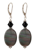 Shadow Leverback Earrings