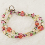 Hibiscus Double Bracelet