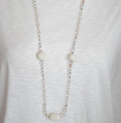 Santorini Long Necklace