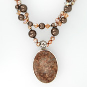 Almond Roca Double Necklace