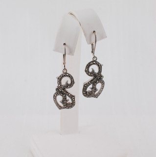 Flourish Marcasite Earrings