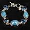 Neptune Topaz & Aquamarine Bracelet