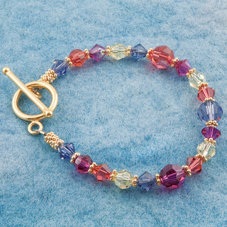 Fruit Punch Basic Bracelet in 18K Gold Vermeil