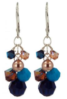 Azul Cluster Earrings