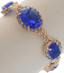 Neoglory Sunny Day Oval Crystal Wedding/Party Ware Bracelet