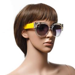 Oversized Embellished Sunglasses