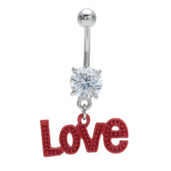 """LOVE"" Belly Bar"