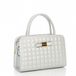 Quilted Bow Hand Bag