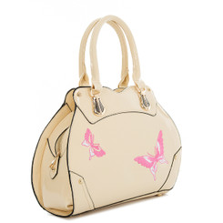 Butterfly Stitched Handbag