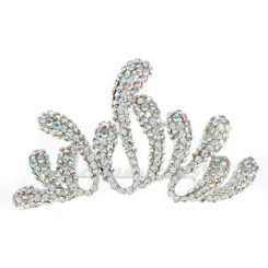Small Crystal Stem Tiara