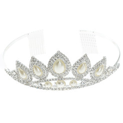 Pointy Pearl Tiara