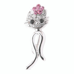 Cat & Flower Belly Bar