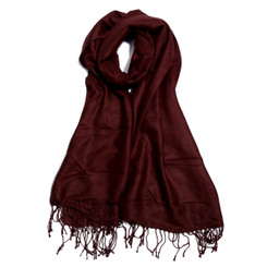 100% Tencel Chocolate Scarf