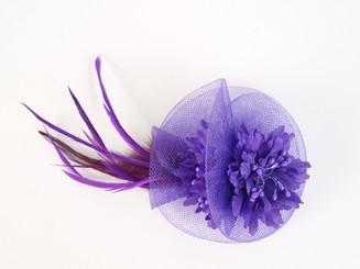 Small Twist Flower Facinator