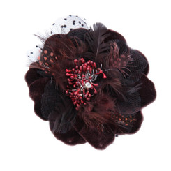 Big flower fascinator