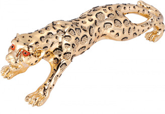 Crystal Leopard Ornament