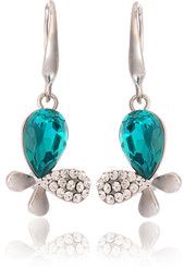 Neoglory Georgia Peacock Blue Jewellery Set Christmas Gift Tv09_Earrings
