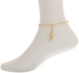 Neoglory Glittering Crystal Dangle Anklet Gold/Silver Plated Gift/Party Ank17