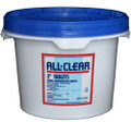 "All Clear 3"" Chlorine Tablets 25 lb."
