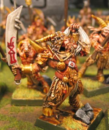 Beastmen Miniature for Warhammer Fantasy War Game