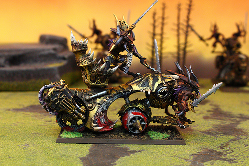 Daemons of Chaos for the Warhammer Fantasy War Game
