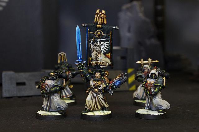 Dark Angels Miniatures for Warhammer 40k