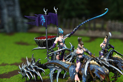 Dark Elves Models for the Warhammer Fantasy War Game