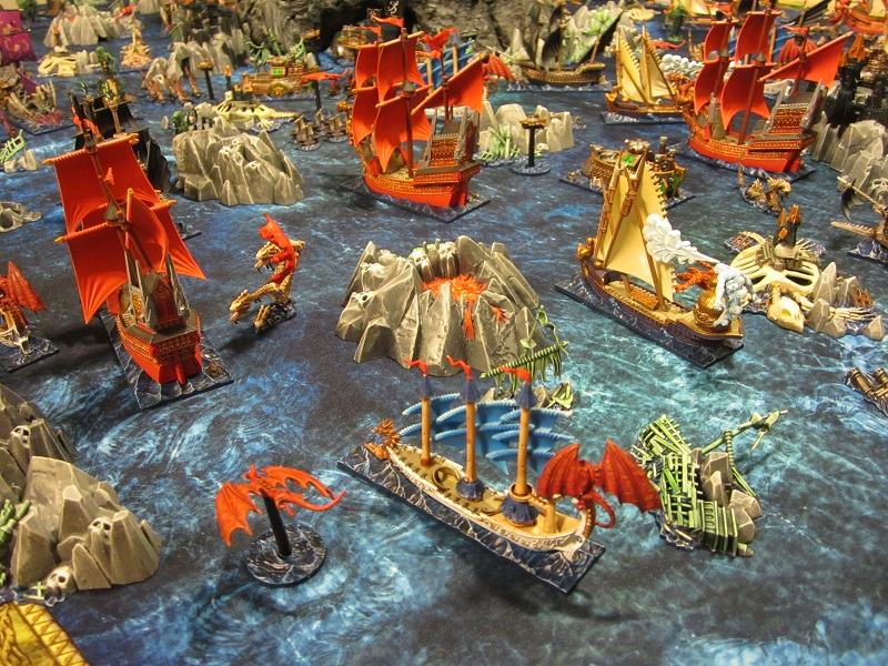 Dreadfleet War Game from the Warhammer Fantasy World