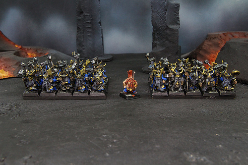 Dwarven Miniatures for the Warhammer Fantasy War Game