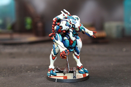 Infinity Model from the Infinity Miniature Wargame