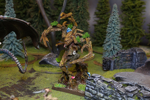 Monster Miniature from the Warhammer Fantasy War Game