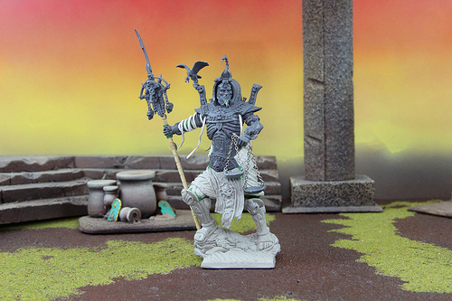 Tomb Kings Miniature for the Warhammer Fantasy War Game