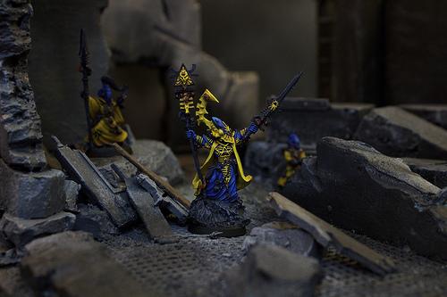 warhammer-40k miniatures, models, and figures for the Warhammer 40k War Game