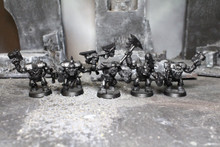 Ork Nobz Lot 6156 Blue Table Painting Store