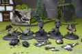 Relics Britanan Troopers Lot 6501 Blue Table Painting Store