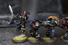Space Marine Deathwatch Squad Lot 6748 Blue Table Painting Store
