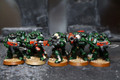 Dark Angel Tactical Marines Lot 7346 Blue Table Painting Store