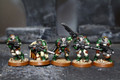 Dark Angel Scouts Lot 7347 Blue Table Painting Store