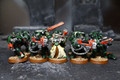 Dark Angel Tactical Marines Lot 7348 Blue Table Painting Store