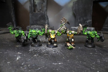 Ork Nobz Lot 7548 Blue Table Painting Store