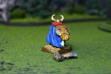 Dwarf Thane Lot 7600 Blue Table Painting Store