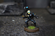 Grey Knight Eversor Assassin Lot 7735 Blue Table Painting Store