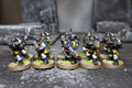 Grey Knight Inquisitorial Storm Troopers Lot 7737 Blue Table Painting Store