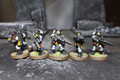 Grey Knight Inquisitorial Storm Troopers Lot 7738 Blue Table Painting Store