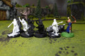 LOTR Wood Elf Warriors Lot 7955 Blue Table Painting Store
