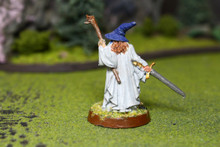 LOTR Gandalf the Grey Lot 7965 Blue Table Painting Store