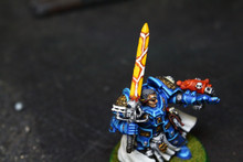 Grey Knight Brother Captain Stern Lot 8075 Blue Table Painting Store